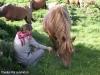 vacances famille pyrenees pleine nature chevaux