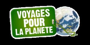 logo voyage pour la planete